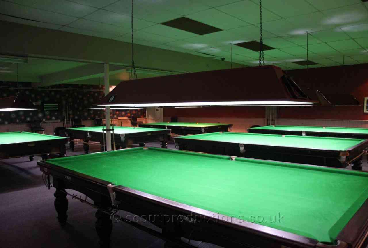 Snooker Halls